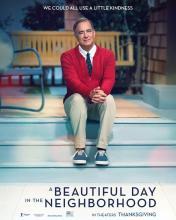 Tom Hanks in A Beautiful Day in the Neighborhood, opening everywhere November 22, 2019
