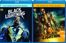 Black Lightning 2 and 3