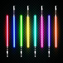 Rainbow of Lightsabers