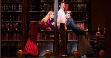 Kristen Beth Williams, Kevin Massey and Adrienne Eller in A GENTLEMAN'S GUIDE TO LOVE & MURDER. Photo Credit:Fox Theatre